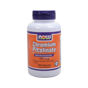 NOW Foods Chromium Picolinate 200 mcg 100 Caps
