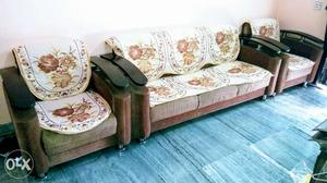 3x2 seater sofa set (with cover)