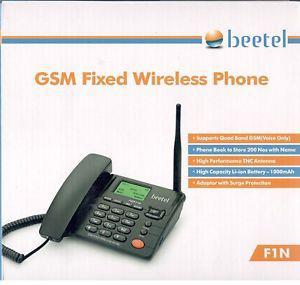 BEETEL F1N FIXED WIRELESS PHONE GSM-SIM-Based TELEPHONE