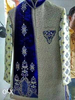 Sherwani for men new sherwani complete set