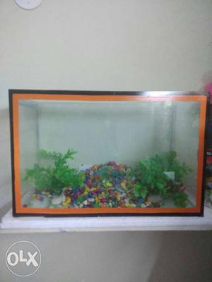 2 aquarium 45 cm small 28 cm small damage not