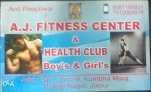 Gym & Home Personal training