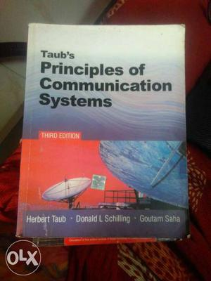 Taub's Principles Of Communication Systems Book