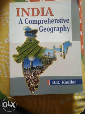 UPSC Geography optional books in almost new