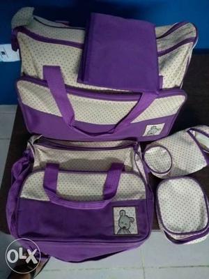 5pc Baby diaper bag set