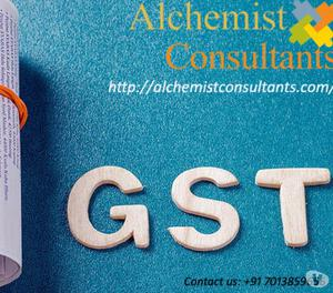 GST filing | Accounting services | Alchemist consultants.