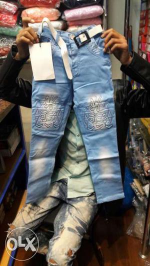 New branded denim for kids wear