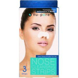 Nu-Pore, Nose Cleansing Strips, 3 Strips UEC-