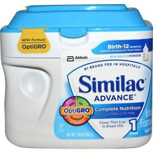 Similac, Advance, Infant Formula with Iron, Stage  lb