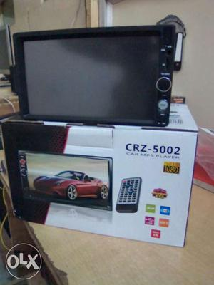 HD camera with double din deckles music system,