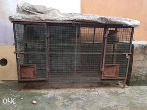 Heavy Iron cage for sale in Puzhal.. Size:6×3