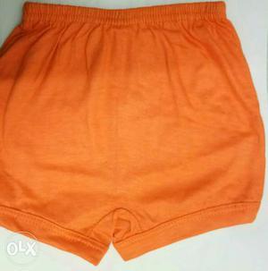 Kids wear orange color size 60cm wear up-to 1-3