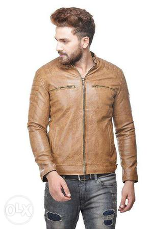 Winter PU Leather Jackets for Men boy guy at SALE price till