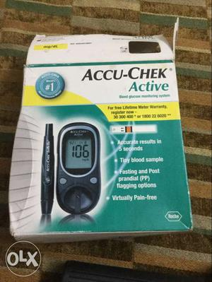 Accu chek active blood glucose monitoring system