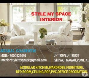 Interior Designer for residential & commercial space. Pune