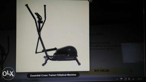 It's Domyos essential cross trainer/elliptical