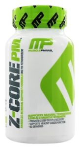 Muscle Pharm - Z-Core PM - 60 Capsules
