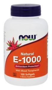 NOW Foods - Vitamin E  IU - 100 Softgels
