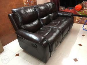Brand new home town recliner 3 seater sofa for