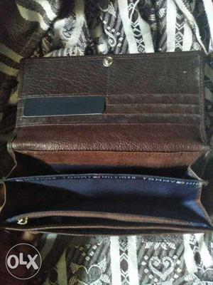 Branded Leather purse