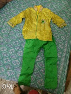 2 to 4years boys stitched shervani