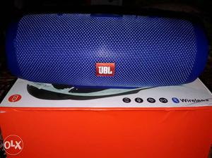 Black JBL Portable Bluetooth Speaker With Box