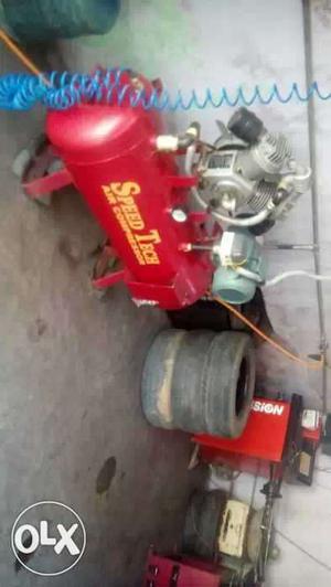 Compresser & Tyre changer