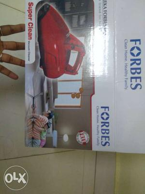 Eureka Forbes vacuum cleaner brand new with
