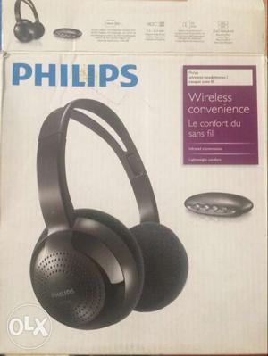 Philips cordless headphones,new,never used,can