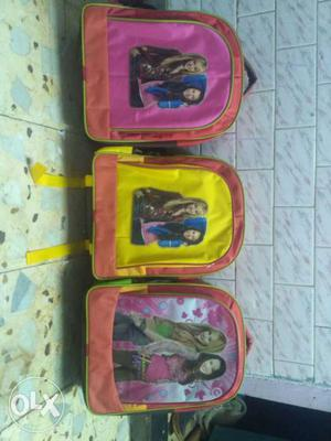 Three Backpacks (per piese 200 only)