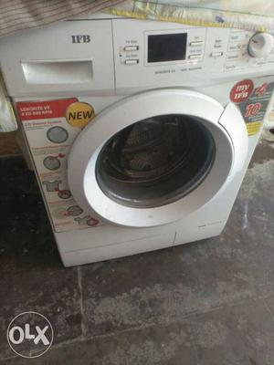 White Ifb Front Load Washing Machine Brand new candition