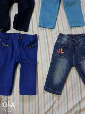 Blue Denim Jeans And Blue Denim Jeans