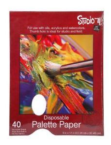 Darice Studio 71 9-Inch-by-12-I nch, 40-Sheet Palette