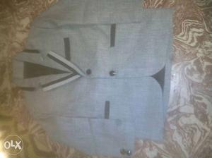 Gray And Black suit pent for children