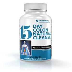 15 Day Colon Natural Cleanse For Weight Loss - Cleanse Detox
