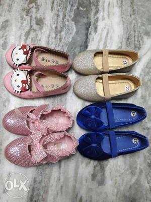 399 each set girls sandals 1.5yr to 2.5yrs