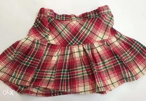 Max girls skirt with adjustable age 2 to 8 Rs:
