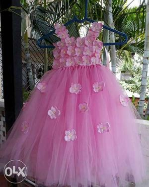 New fluffy soft tutu Frock for 1 to 2yrs baby