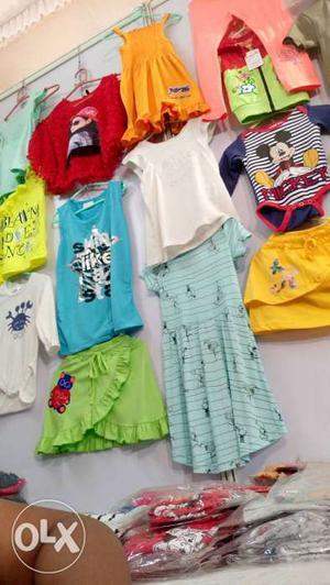 Want to sel in bulk kids wear 75 each