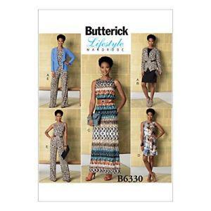 Butterick Patterns B Misses' Jacket, Elastic-Waist