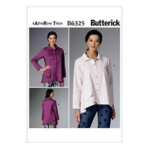 Butterick Patterns B Misses' Pleated-Collar