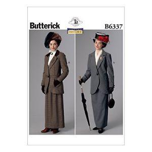 Butterick Patterns B Notch-Collar Jackets & Floor-Length