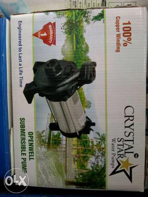 Crystal Star Openwell Submersible Pump Box