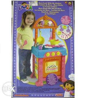 Dora Cook with me Kitchen