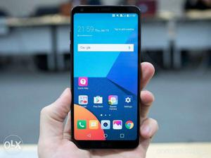 LG G6 with 1year 6months extra warranty with