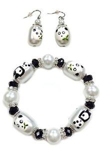 Linpeng BR-/E- Piece Fiona 3D Hand Painted Panda