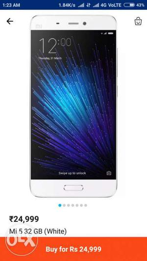 Mi 5 Brand new condition one year old 3gb 32gb