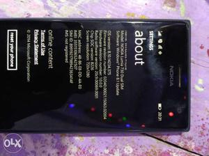 Mobile in good condition and dual sim nokia lumia