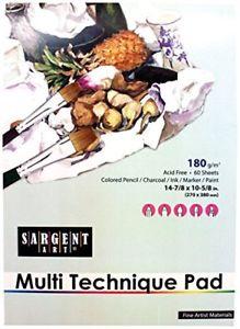 Sargent Art  Multi Technique Pad