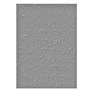 Spellbinders Sel-011 N/A Embossing Folder Large-Splatter ed